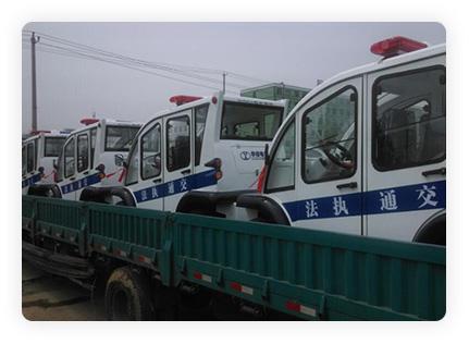 title='湖北孝感-電動巡邏車'